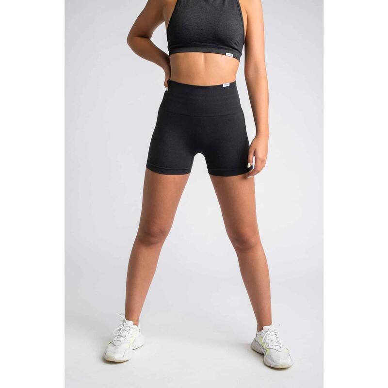 Pulse Seamless Short Fitness - Femme - Noir