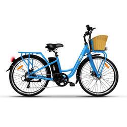 LIGHT Sky blue Bicicletta Elettrica a Pedalata Assistita