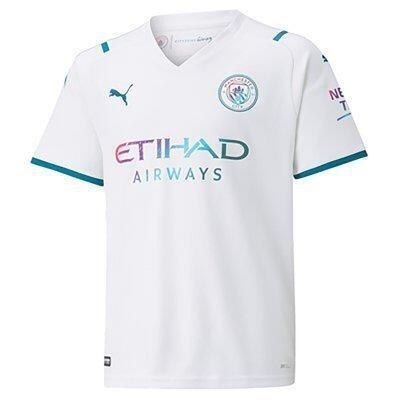 Maillot extérieur enfant Manchester City 2021/22