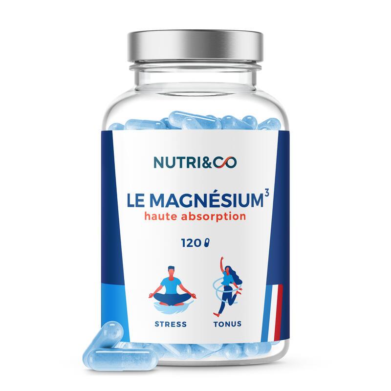 Magnésium Végétal + Vit B6 - Absorption Supérieure au Bisglycinate - 120 Gélules