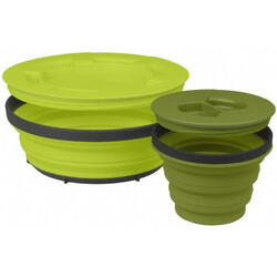 Sea to Summit campingset X-Seal & Go Small groen 2-delig