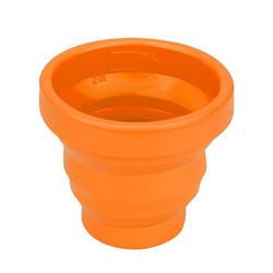 Sea to Summit opvouwbaar shotglas X-Shot 75 ml siliconen oranje