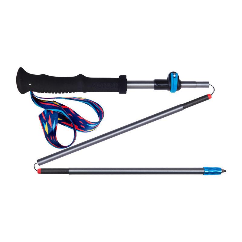 E4205 110-130(cm) 可調節折疊式航空鋁行山杖|登山杖 (單支)