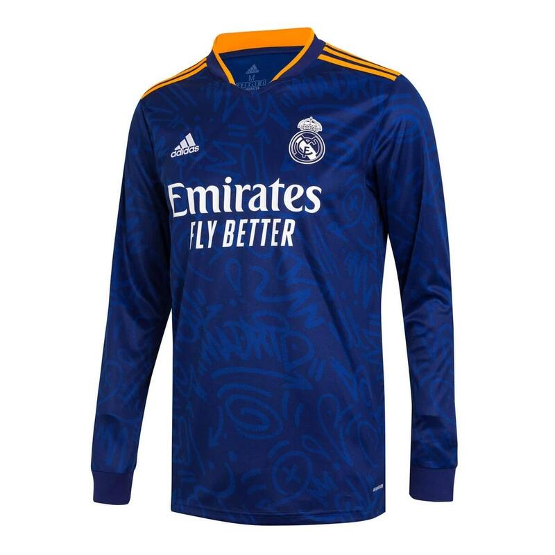 Maillot manches longues exterieur Real Madrid 2021/22