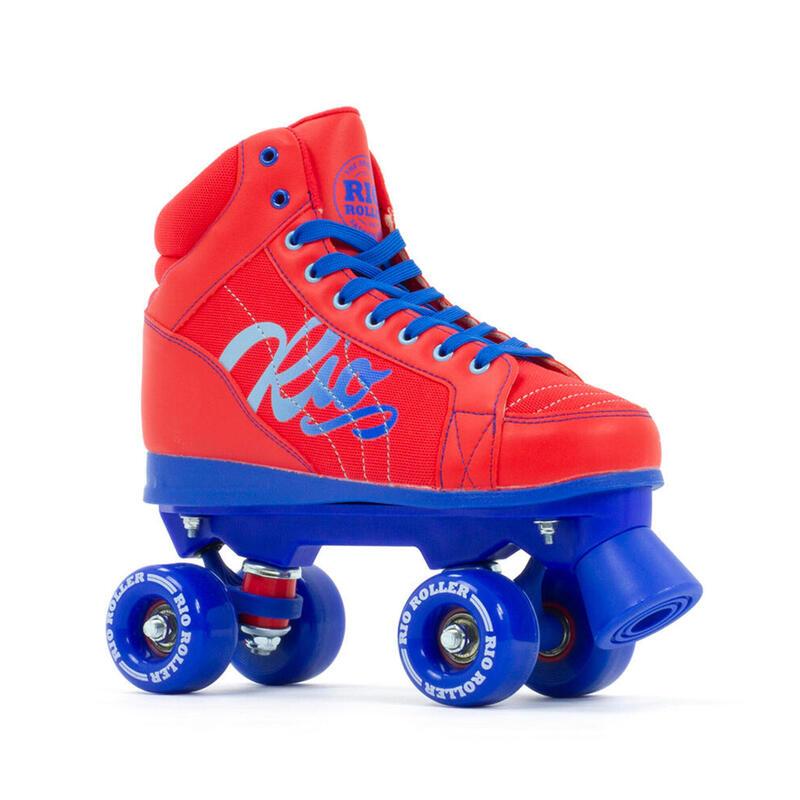 Roller Quad Lumina Rouge/Bleu