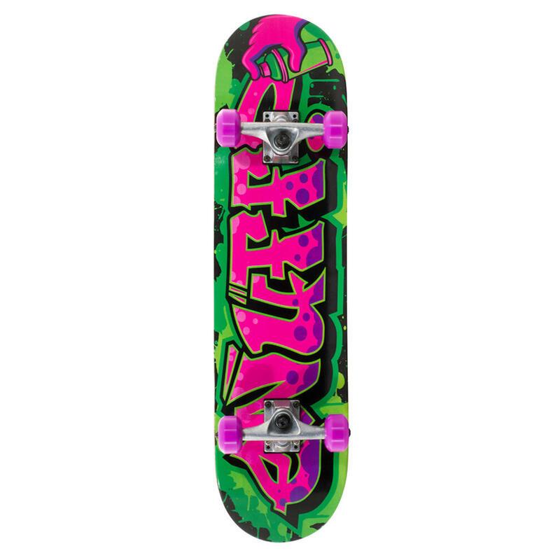 "Skate Enuff Graffiti II 7.25""x29.5"" Vert/violet"