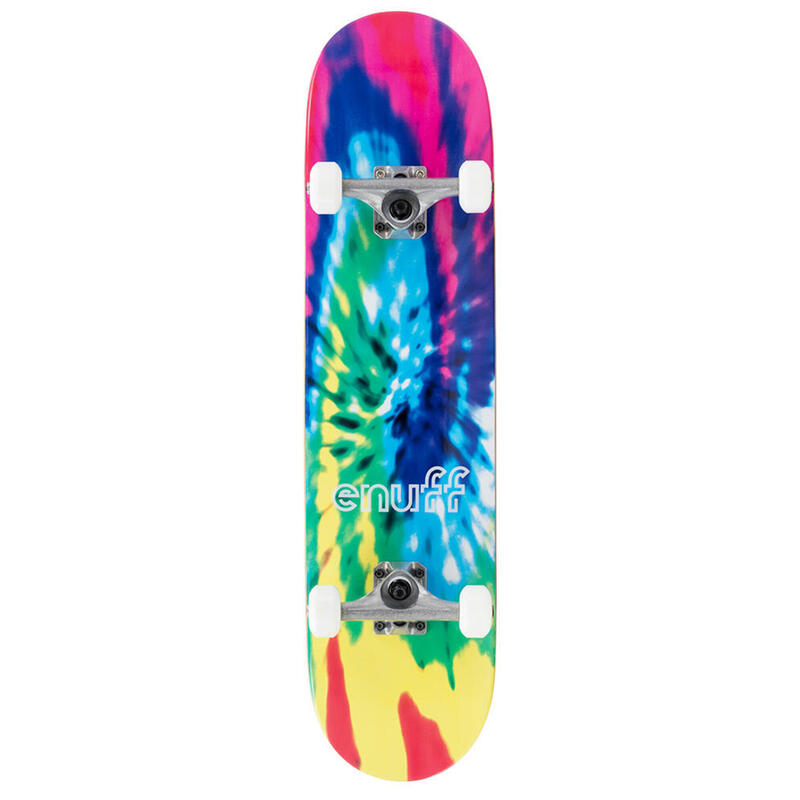 "Skate Enuff Tie-Dye 7.75""x31"" Multi"