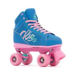 Roller Quad Lumina Bleu/Rose