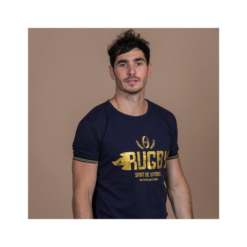 T-shirt manches courtes de rugby homme Sport de Voyous
