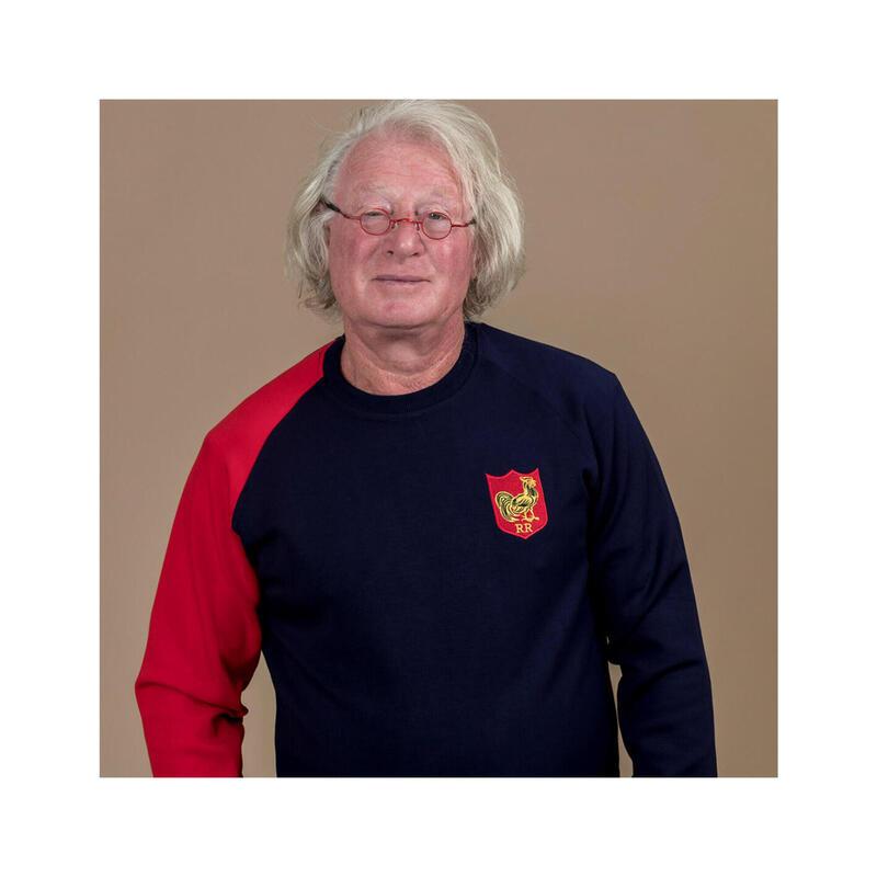 Sweat de rugby homme Art & Rugby - Jean-Pierre Rives