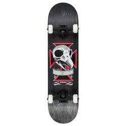 "Birdhouse Stage 3 Skull 2 8.125"" nero Skateboard"