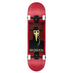 """Birdhouse Stage 3 Plague Doctor rosso 8"""" Skateboard"""