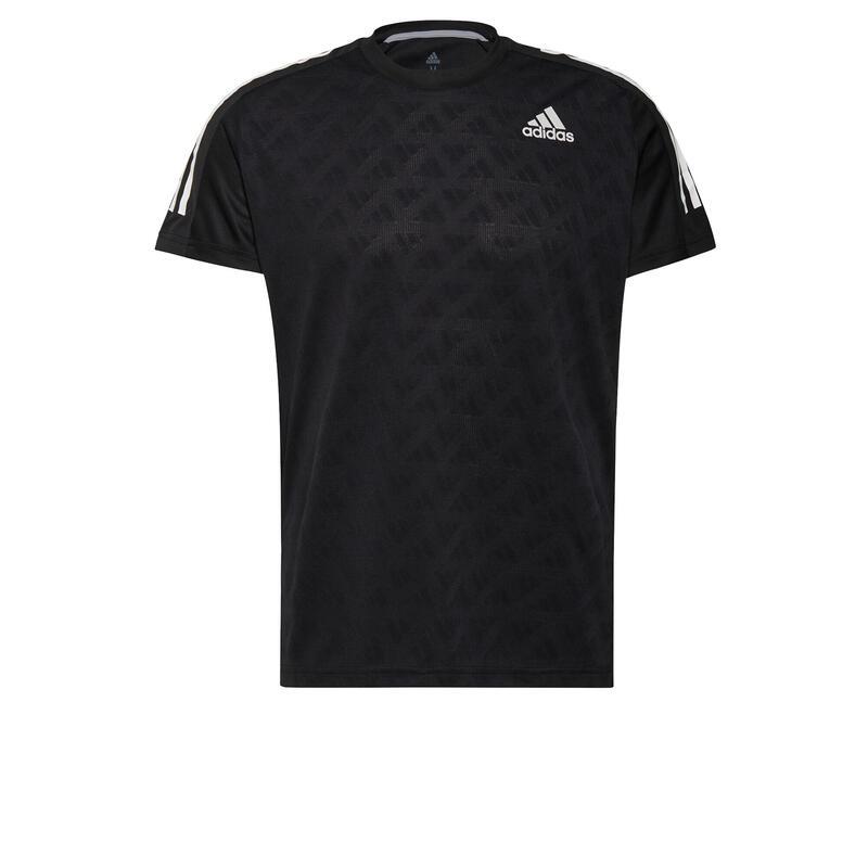T-shirt adidas Own The Run 3-Stripes