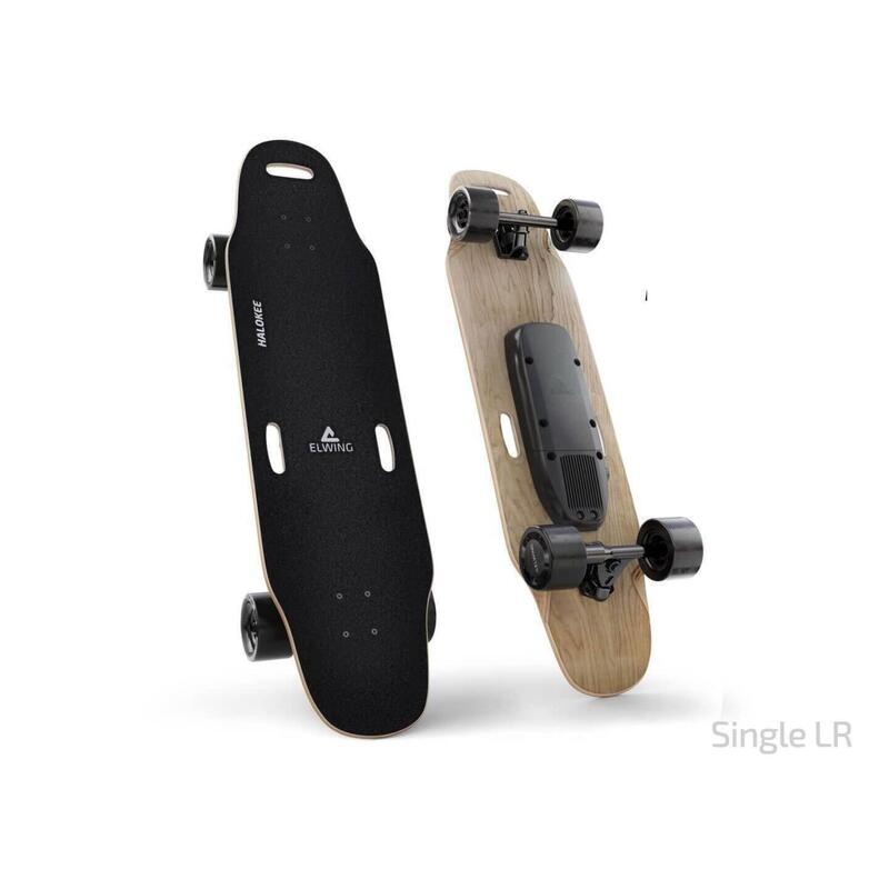 Skateboard électrique - Plateau Halokee, Moteur Simple, Batterie Longue Distance