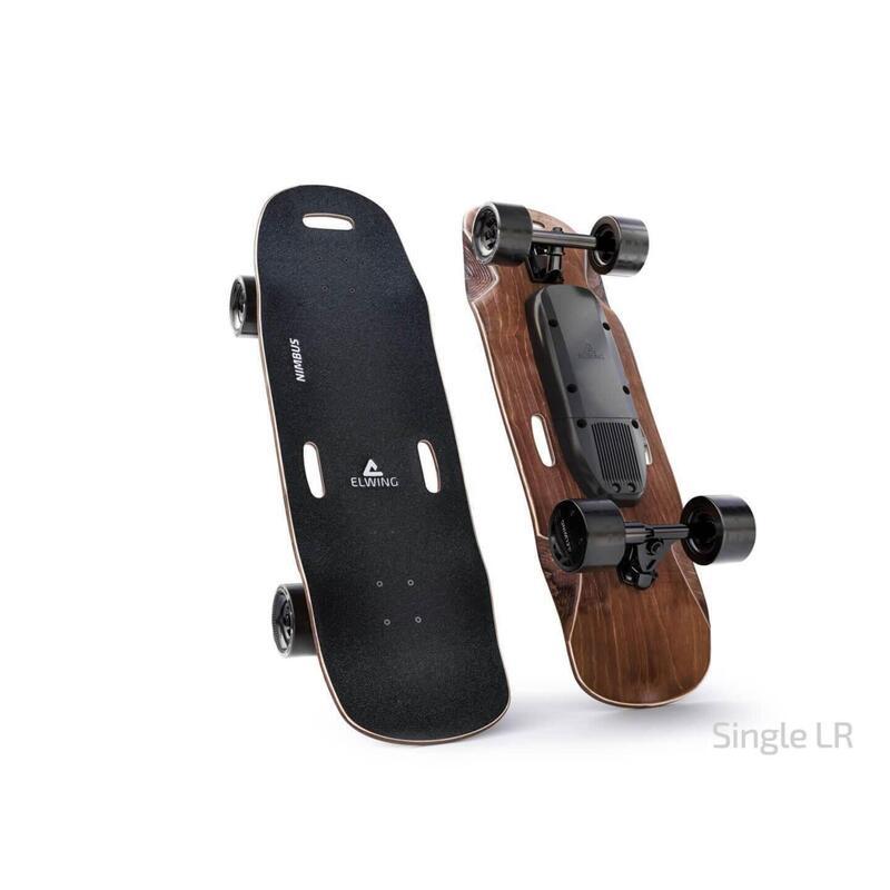 Skateboard électrique - Plateau Nimbus, Moteur Simple, Batterie Longue Distance