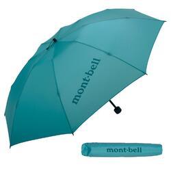 Montbell Ultra Light Trekking Umbrella (Turquoise Blue)