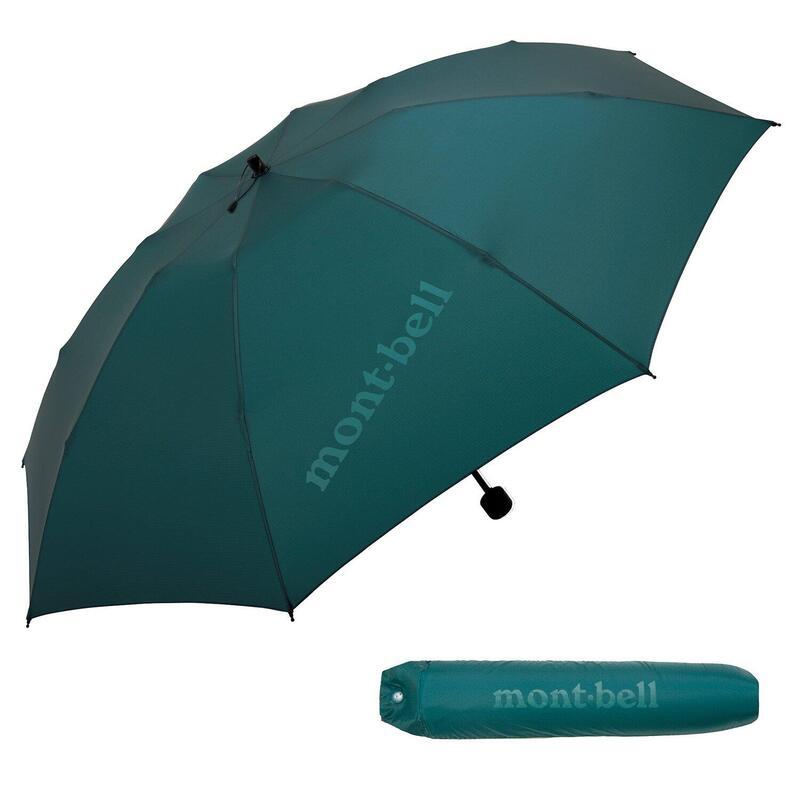 Montbell Ultra Light Trekking Umbrella (Dark Mallard)