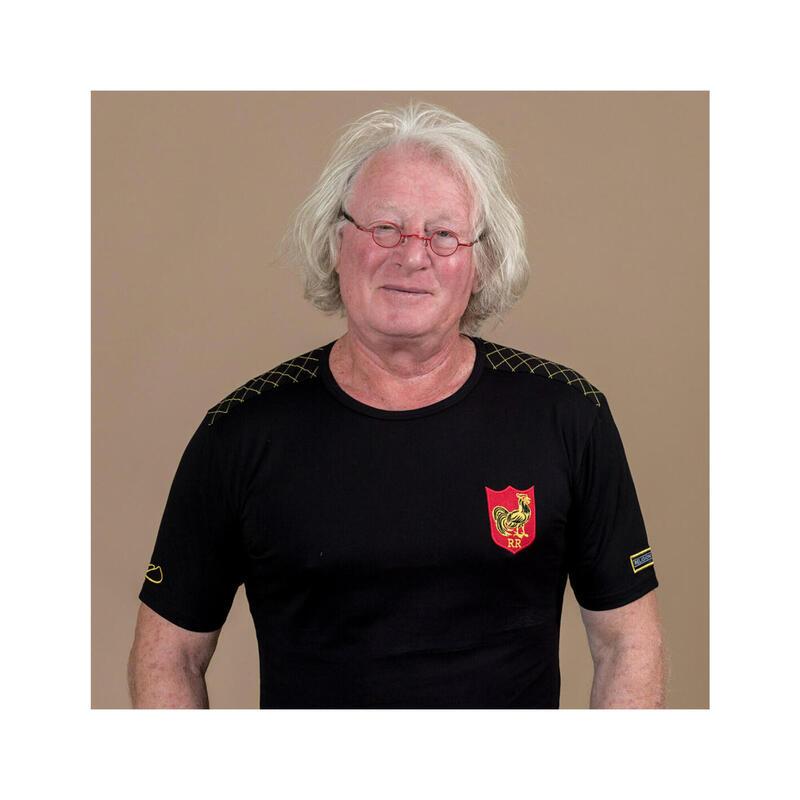 T-shirt manches courtes de rugby homme - 7 de légende - Jean-Pierre Rives