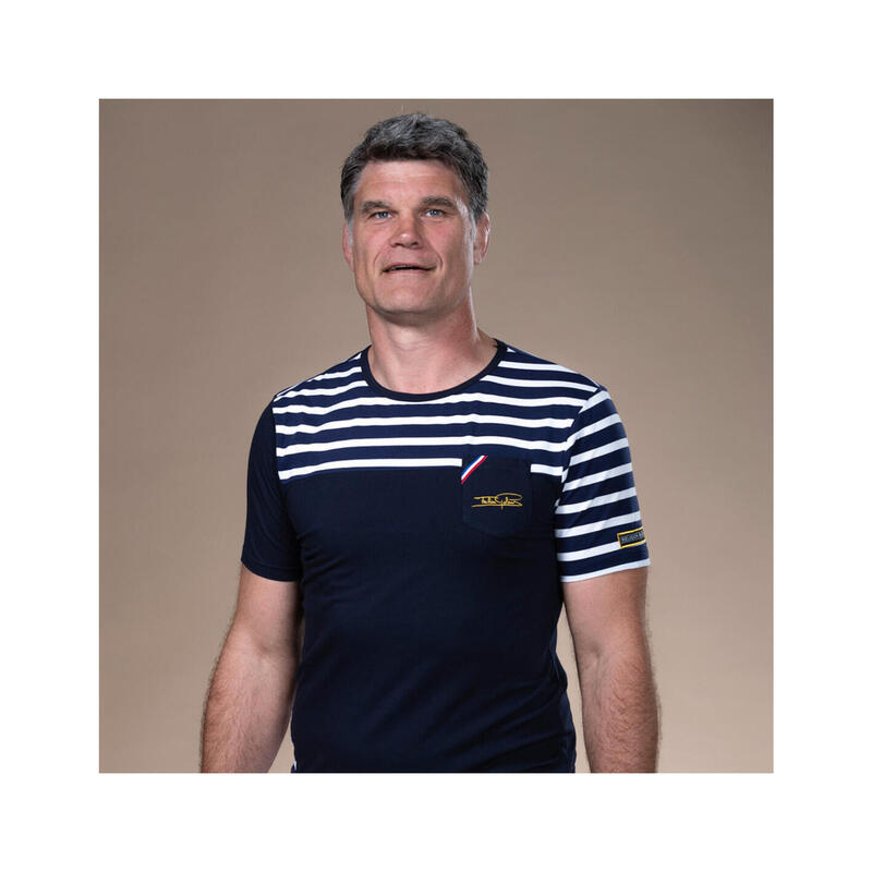 T-shirt manches courtes de rugby homme - Ciel Occitan - Fabien Pelous