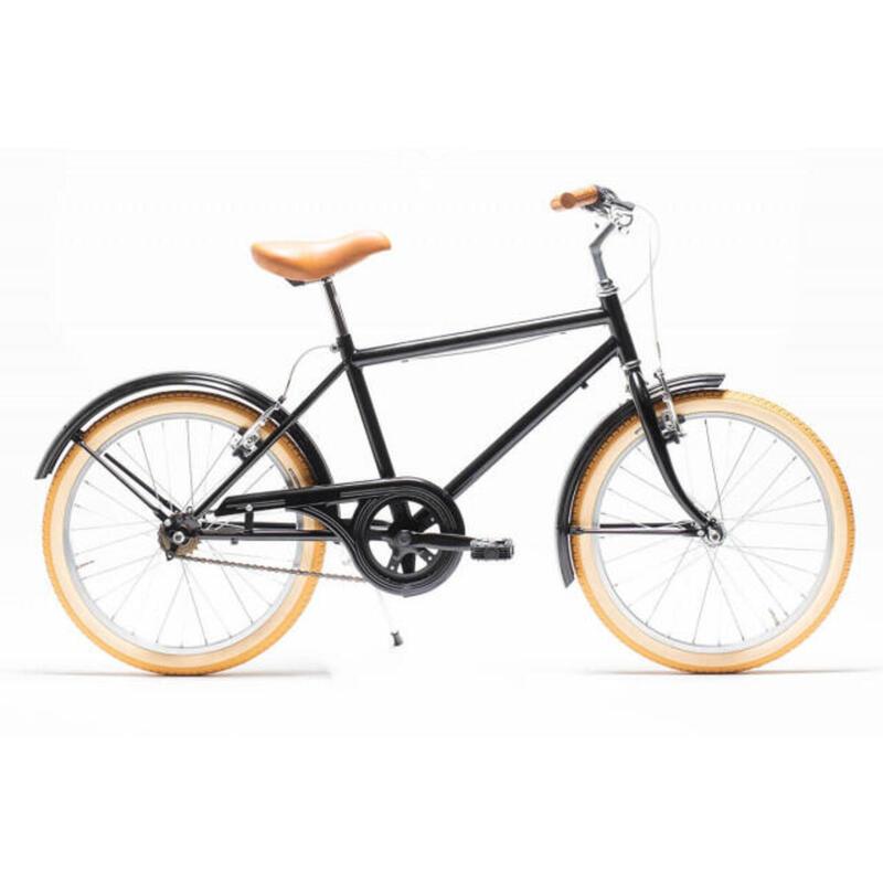"Bicicleta de paseo Niños Capri Buddy Negra 20"""
