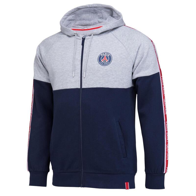 Veste à capuche PSG - Collection officielle PARIS SAINT GERMAIN - Homme