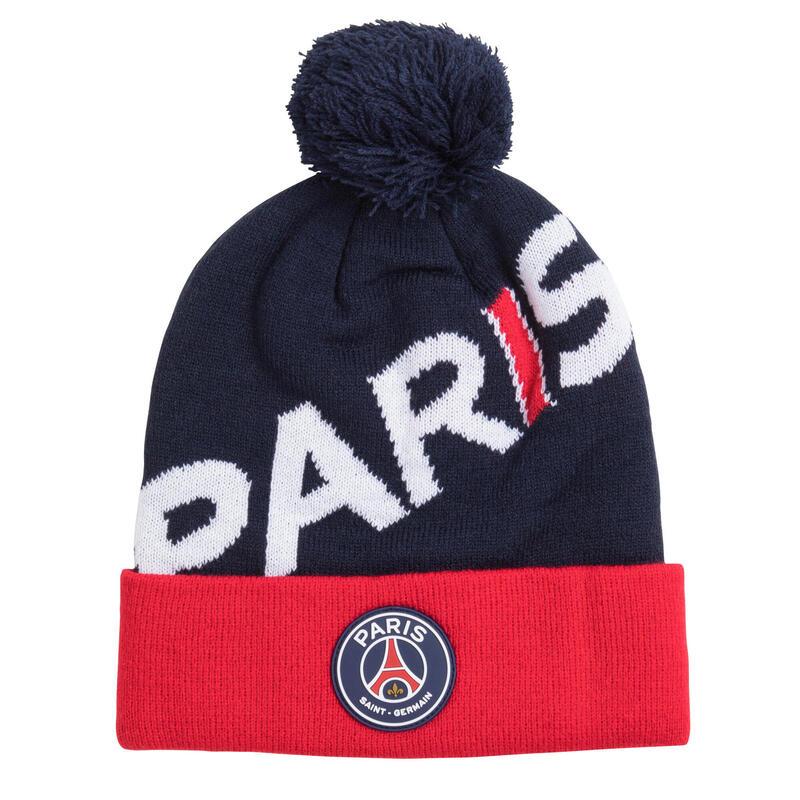 Bonnet pompon PSG - Collection officielle PARIS SAINT GERMAIN