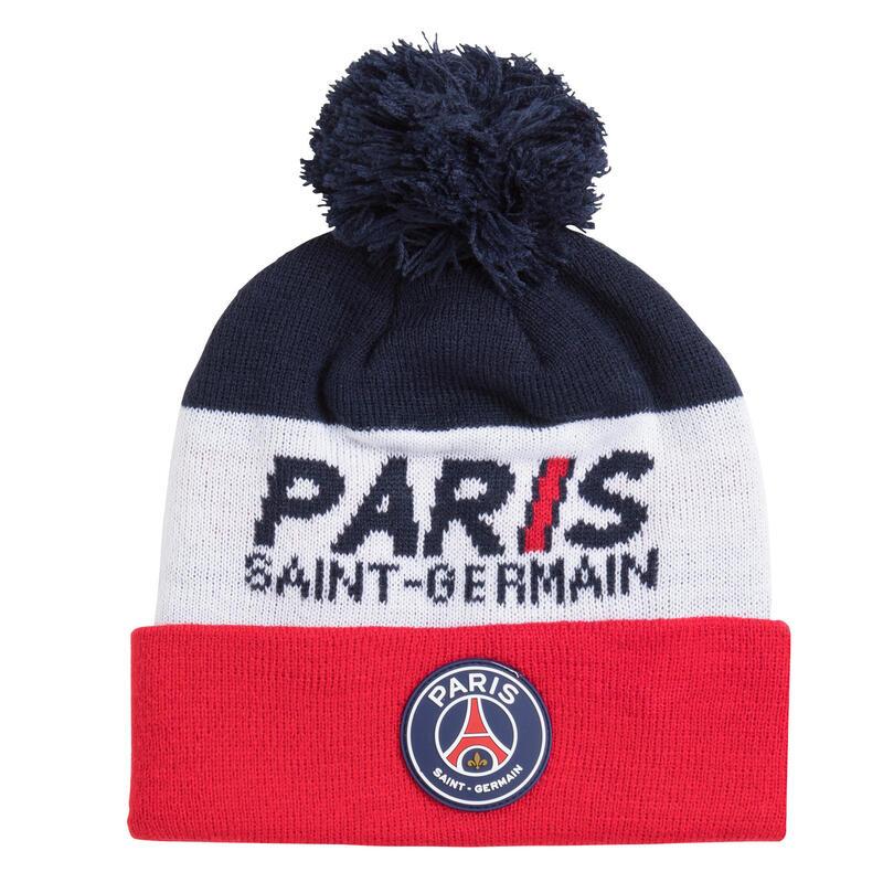 Bonnet pompon PSG - Collection officielle PARIS SAINT GERMAIN - Enfant