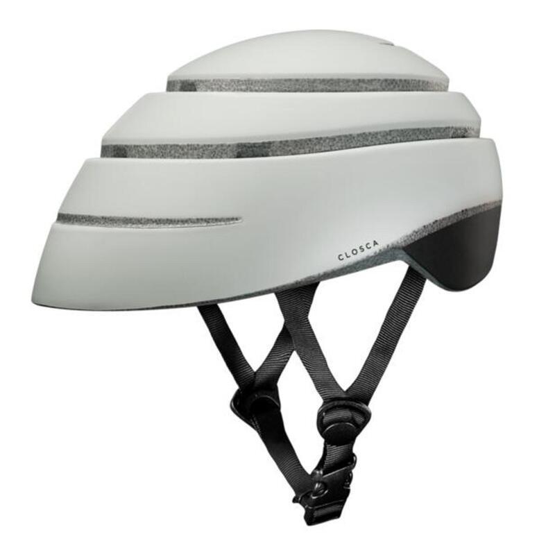 Casco de Bicicleta Plegable (Helmet Loop, Perla / NEGRO)