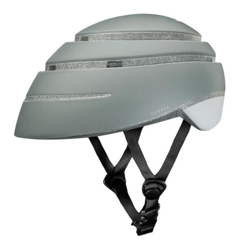 Casco de Bicicleta Plegable (Helmet Loop, Fossil / BLANCO)