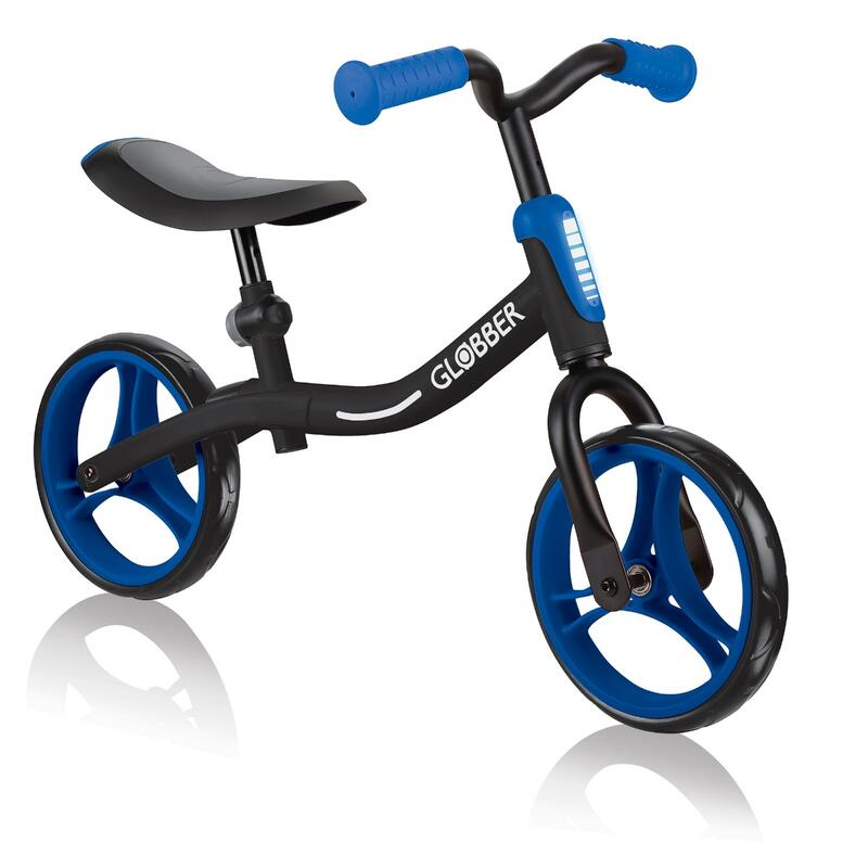 Globber Go Bike Balance Bike - Black/Navy Blue