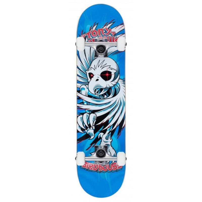 """Skate Birdhouse Stage 1 Hawk Spiral blue 7.75"""""""