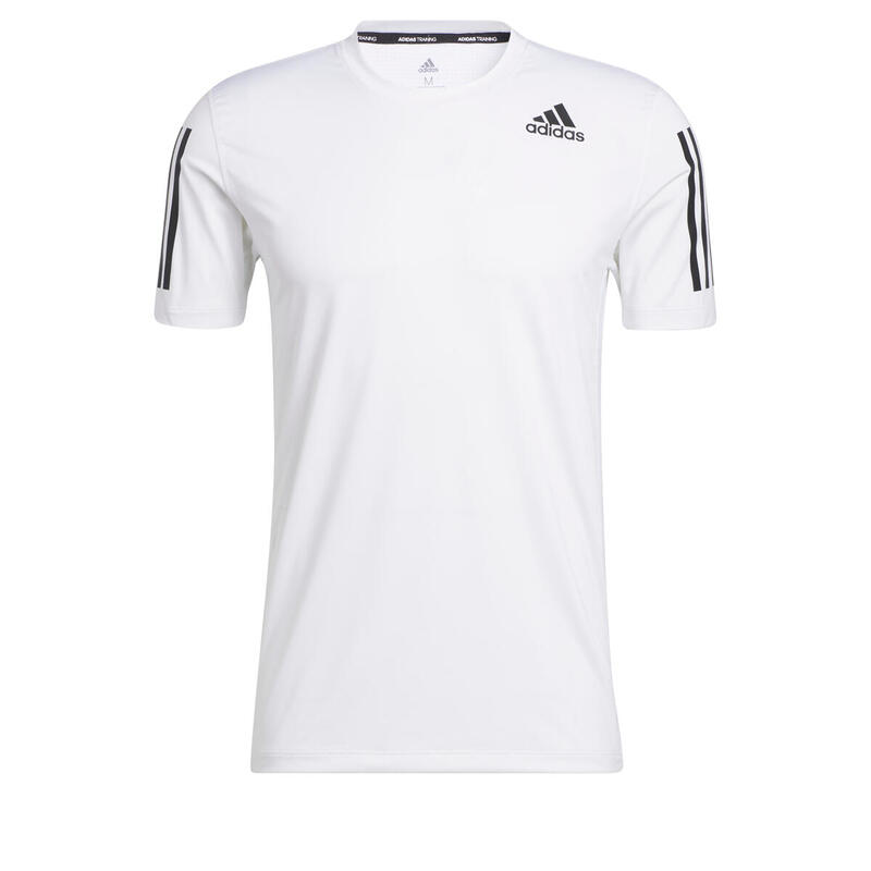 T-shirt adidas Techfit Fitted 3-Bandes