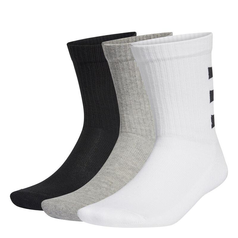 Lot de 3 paires de chaussettes adidas 3-Stripes Half-Cushioned
