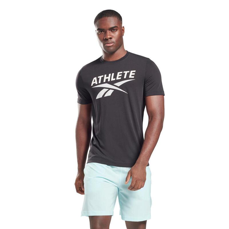 T-shirt Reebok Athlete Vector Graphic