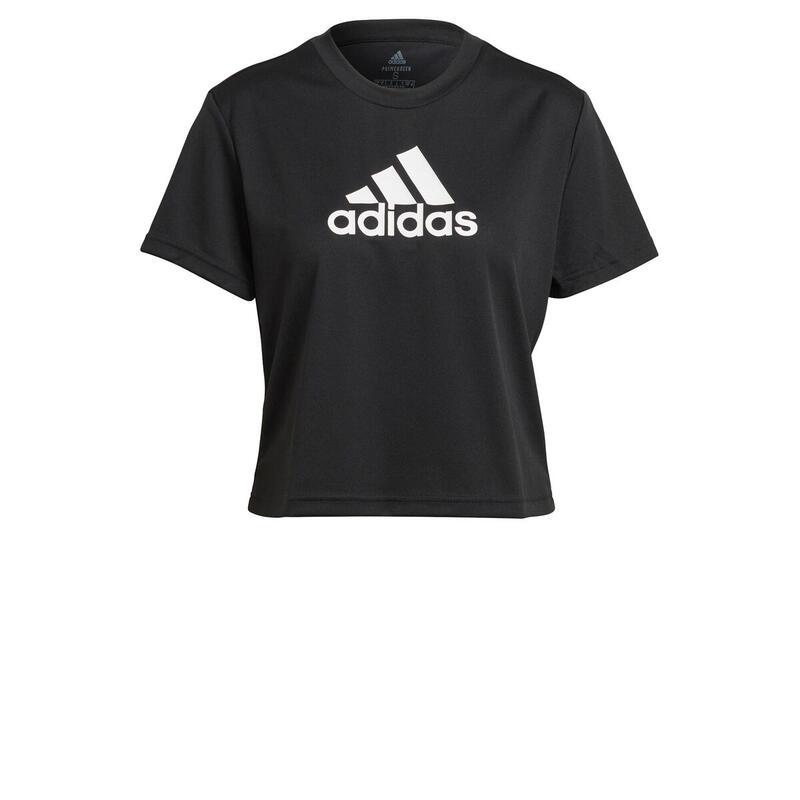 T-shirt court femme adidas Aeroready Designed 2 Move Logo Sport