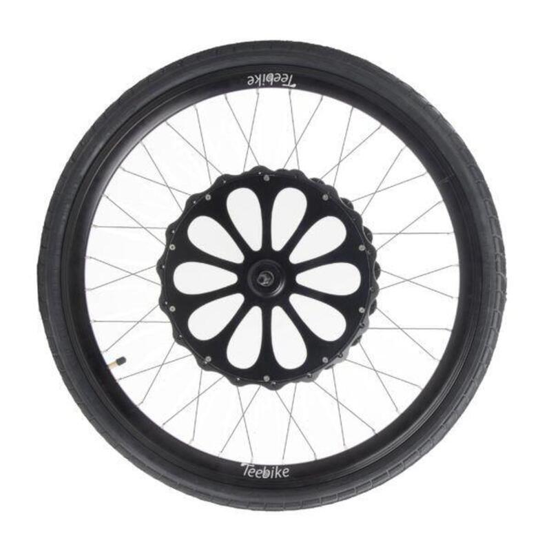 """Kit de conversion électrique - Roue avant 26"""" pour vélo Btwin/Rockrider"""