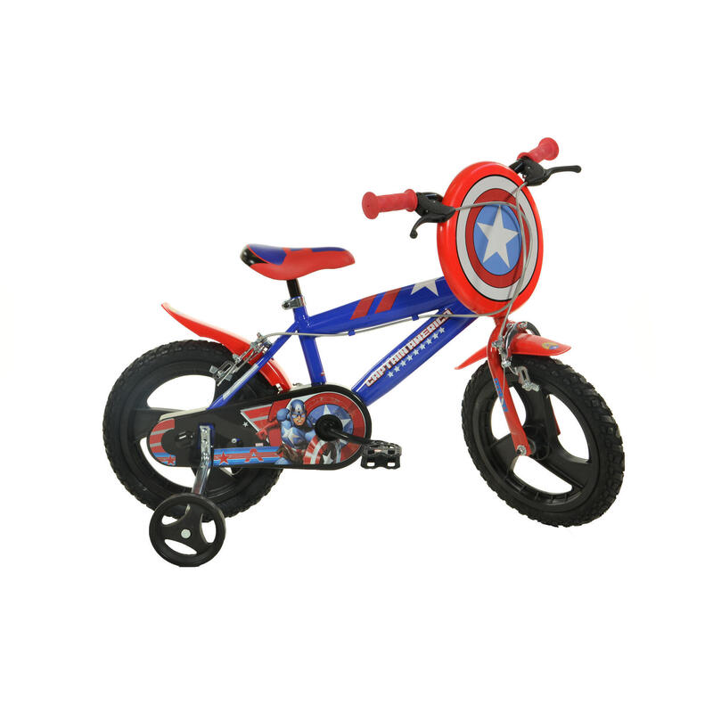 """Captain America 16"""" Bikes with Removable Stabilisers"""