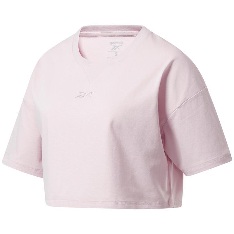 T-shirt femme Reebok crop Studio