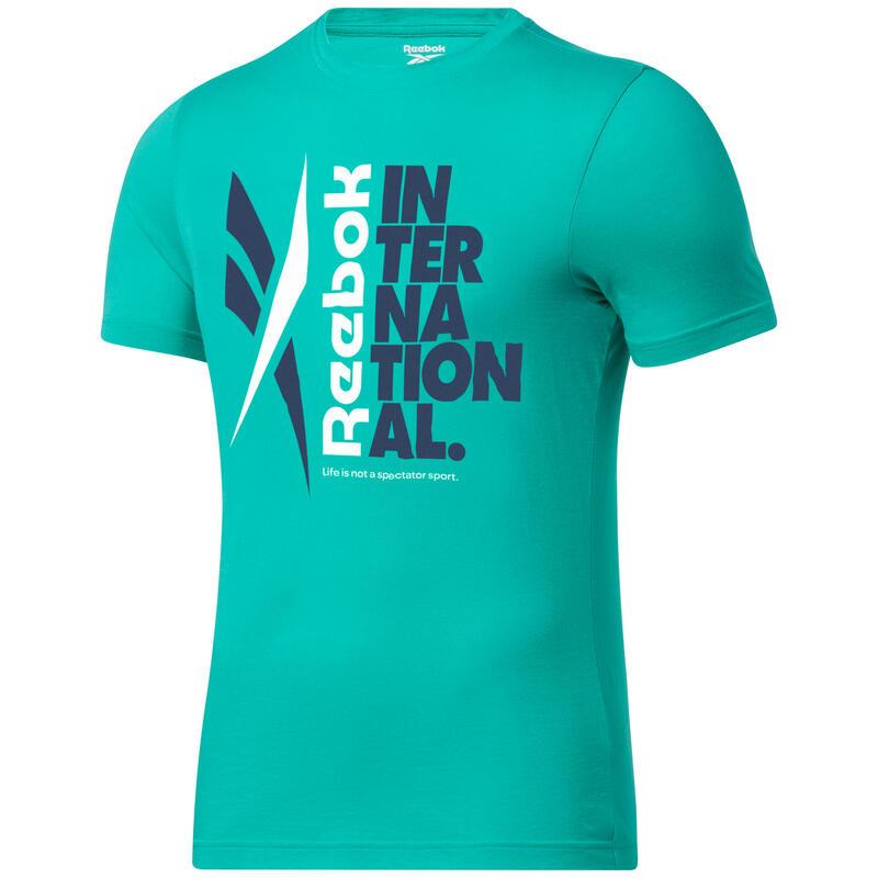 T-shirt Reebok Verbiage Graphic