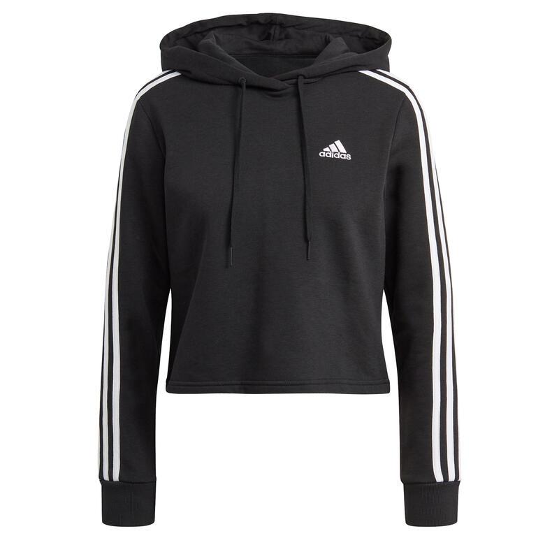 Sweatshirt court à capuche femme adidas Essentials 3-Bandes