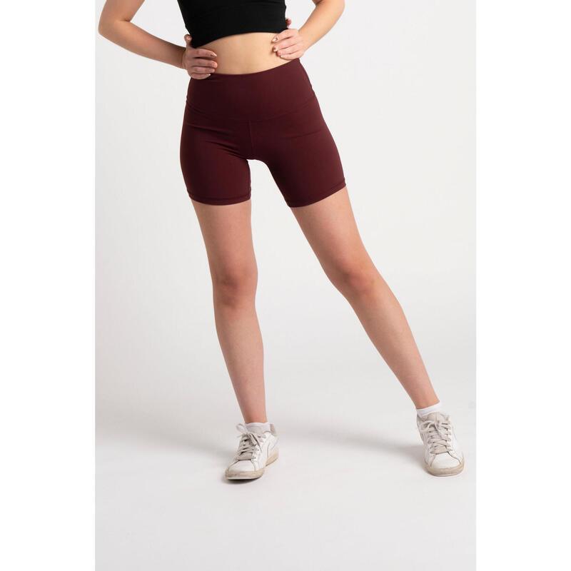 Short Fitness Mi-Long - Femme - Porto Rouge