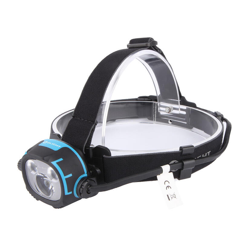 Linterna frontal LED recargable de 2.500 lum. H37 Wave