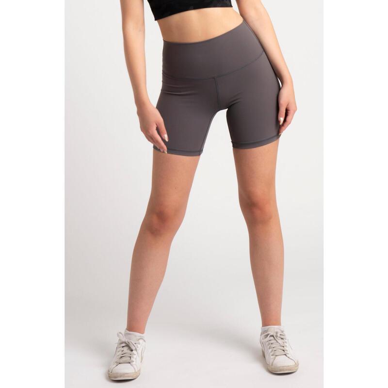 Short Fitness Mi-Long - Femme - Lila Pourpre
