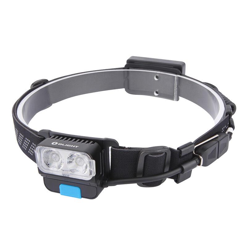 Linterna frontal LED recargable de 550 lum. H17R Wave con luz roja trasera