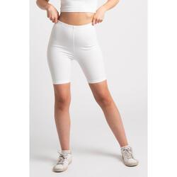 Body Biker Short - Dames - Wit