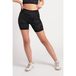 Fitness Short Medium Lengte - Dames - Camo