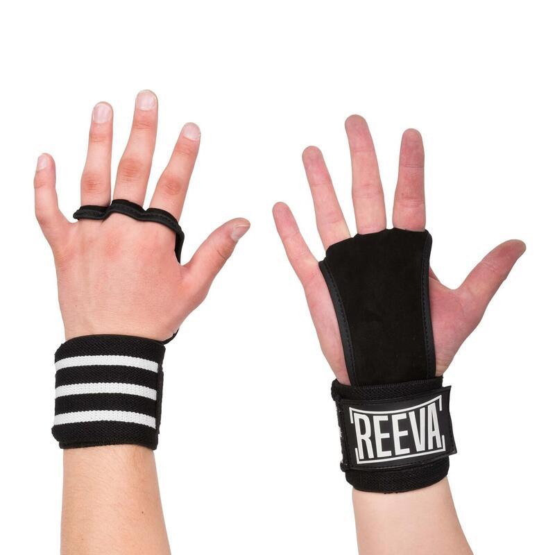 Reeva Kangaroo Grips - Crossfit Handschoenen - Wrist Wrap - S