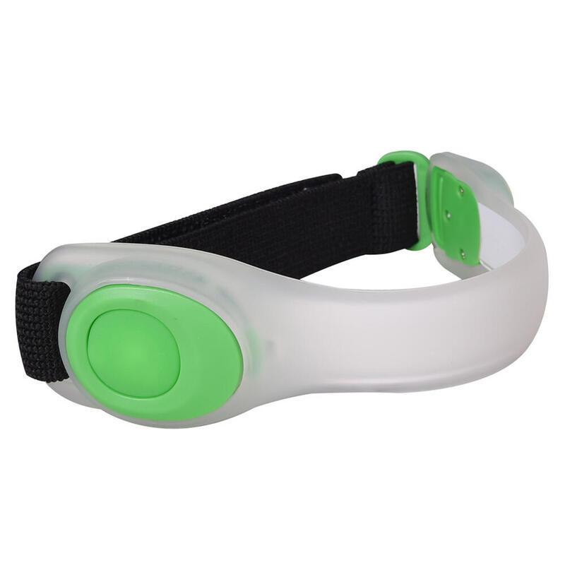 E4042 LED Safety Light Sleeve Bracelet Wrist Band for Outdoor Sports