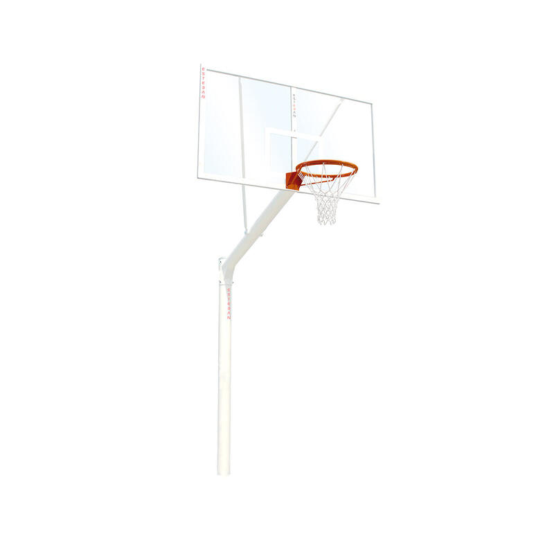 Canasta baloncesto fija tablero metacrilato extensión 165 cm