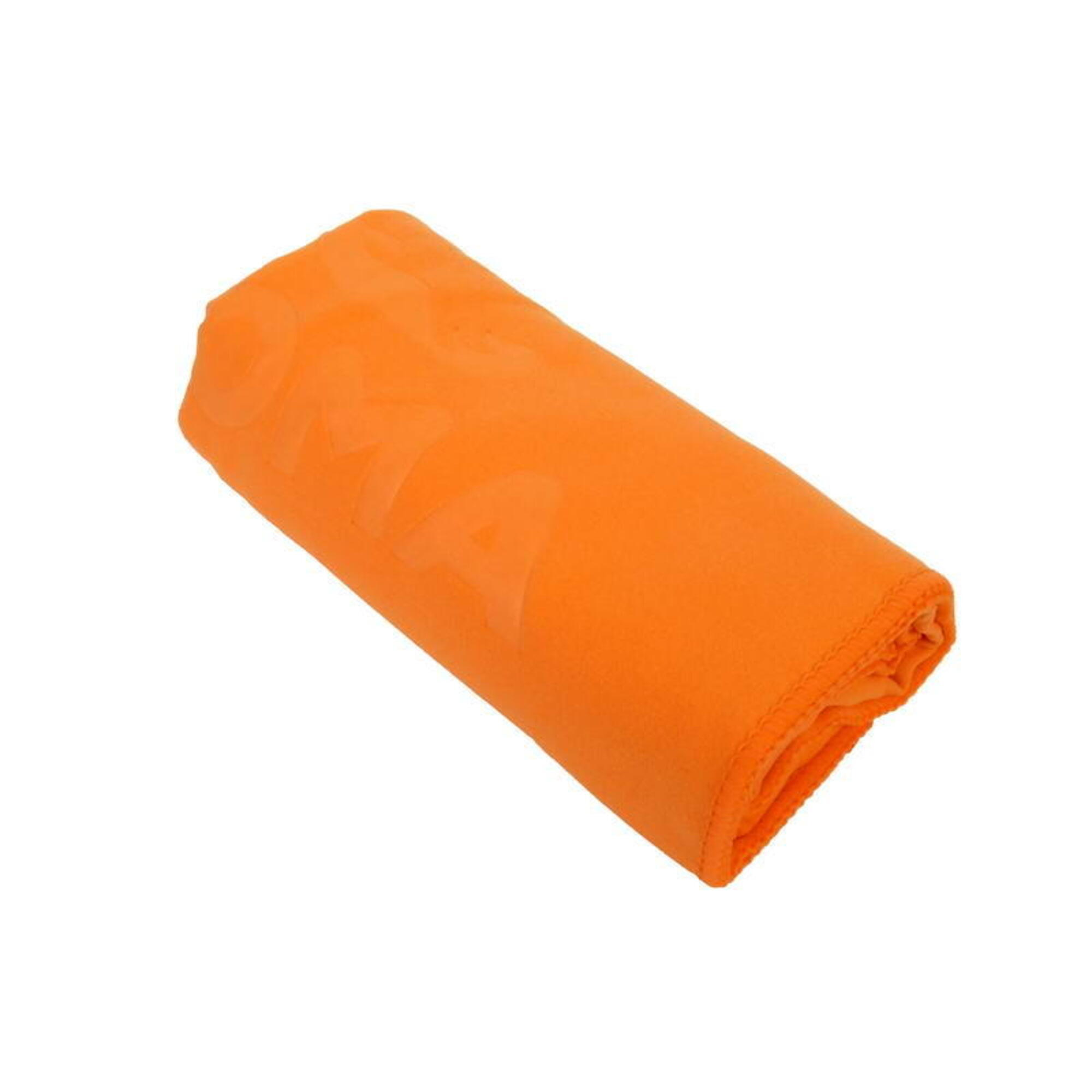 微纖吸水毛巾, 橙色